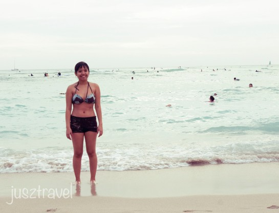 Waikiki is my second favourite beach in the whole wide world next to Boracay Island, Philippines